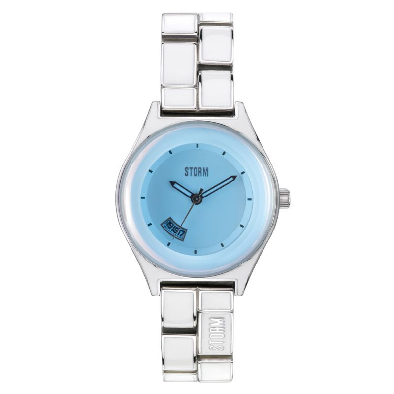 Ladies STORM Mini Lazer Watch MINI-LAZER-ICE-BLUE