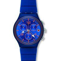 Herren Swatch Welle Addict Chronograf Uhr