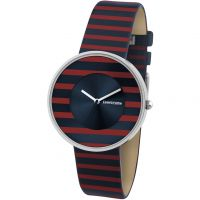 Damen Lambretta Cielo Stripes Watch 2105RED