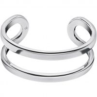 Ladies Calvin Klein Stainless Steel Small Return Bangle