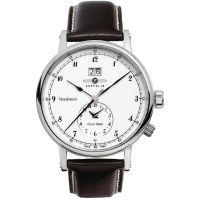 Herren Zeppelin Nordstern Dual Time Watch 7540-1