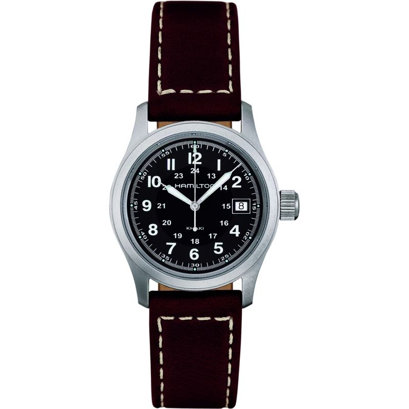Mens Hamilton Khaki Field Quartz 33mm Watch