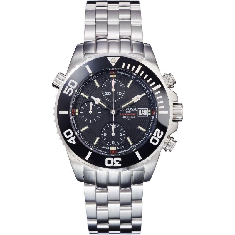 Mens Davosa Argonautic Lumis Automatic Chronograph Watch