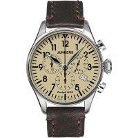 Herren Junkers Cockpit JU52 Chronograf Uhr