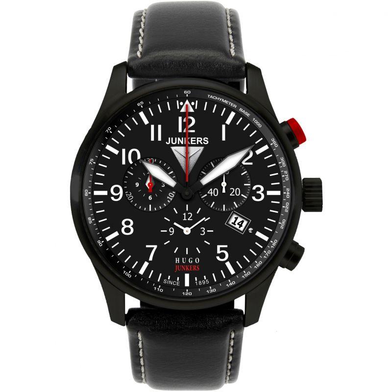 Mens Junkers Hugo Junkers Alarm Chronograph Watch