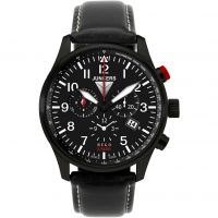 Mens Junkers Hugo Junkers Alarm Chronograph Watch