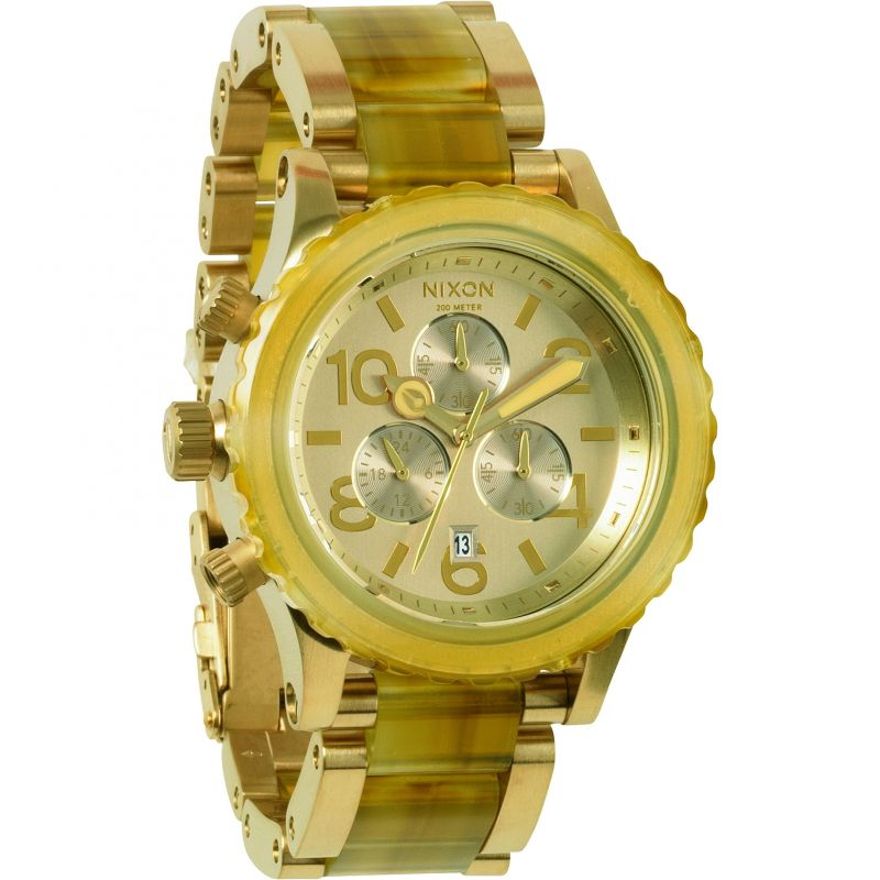 Ladies Nixon The 42-20 Chrono Chronograph Watch A037-1423