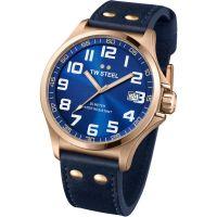 Mens TW Steel Pilot 45mm Watch