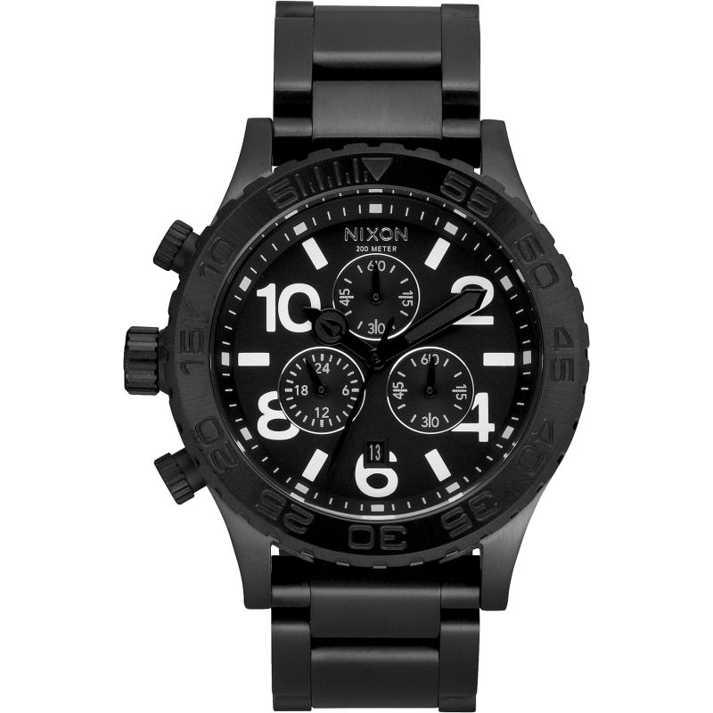 Mens Nixon The 42-20 Chrono Chronograph Watch A037-001