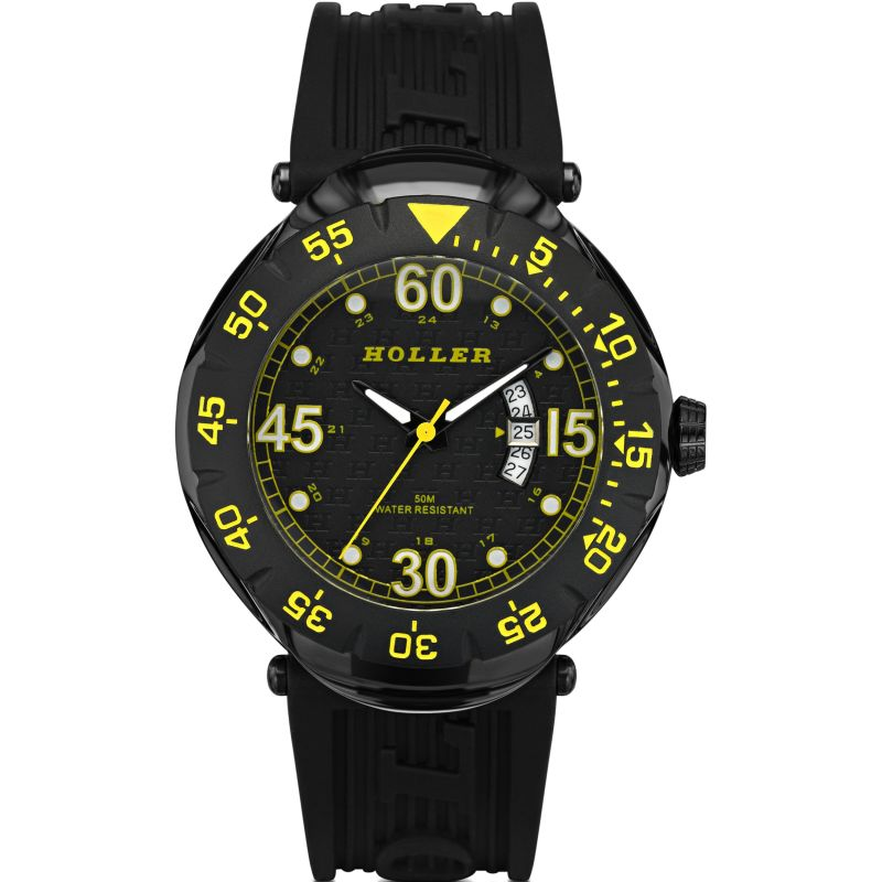 Mens Holler Goldwax Watch