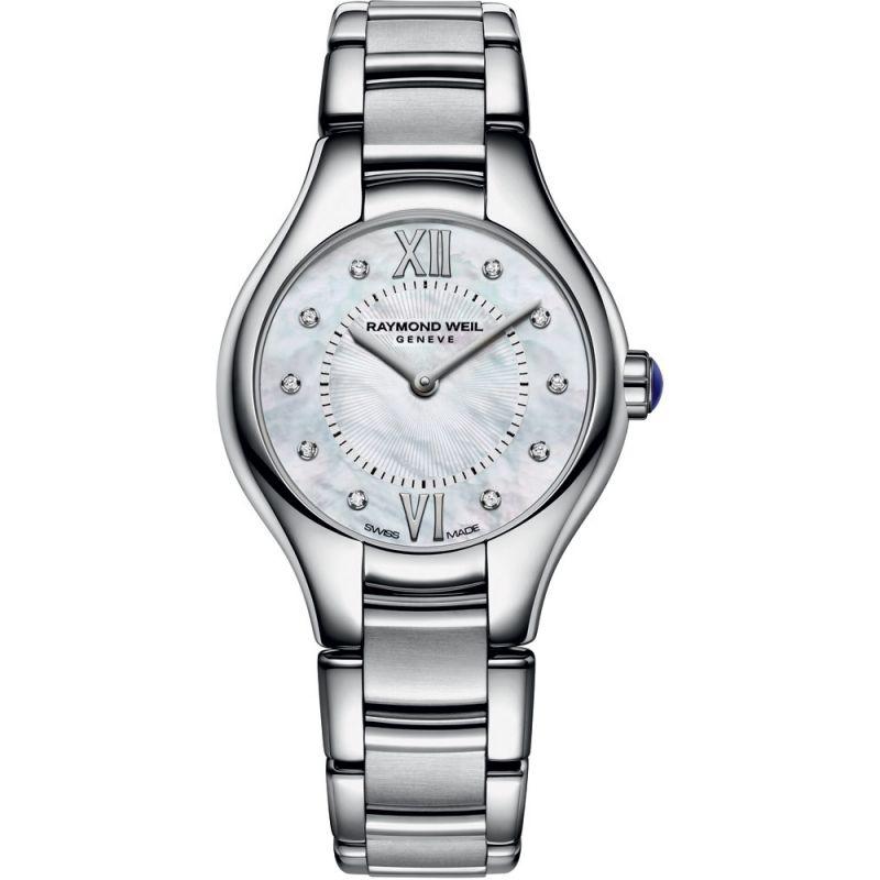 femme Raymond Weil Noemia 24mm Diamond Watch 5124-ST-00985