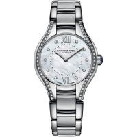 Damen Raymond Weil Noemia 24mm Diamond Watch 5124-STS-00985