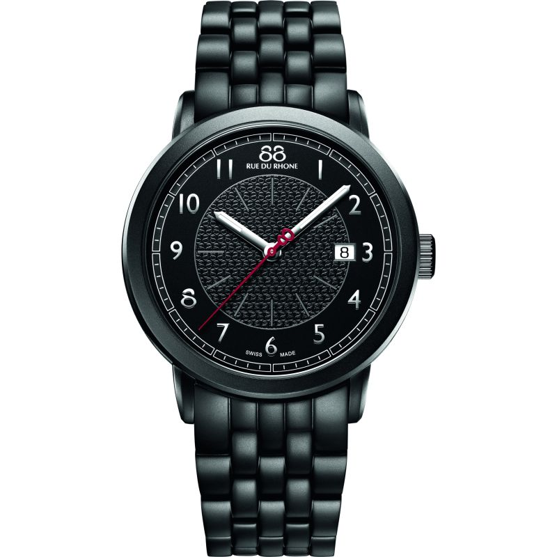 Mens 88 Rue Du Rhone Double 8 Origin 42mm Watch