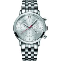 88 Rue Du Rhone Double 8 Origin 42mm Herenchronograaf Zilver 87WA120044