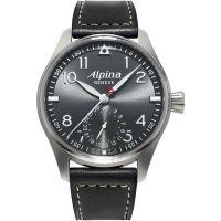 Herren Alpina Startimer Pilot hergestellt Automatik Uhr