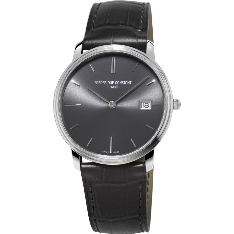 Mens Frederique Constant Slim Line Index Watch