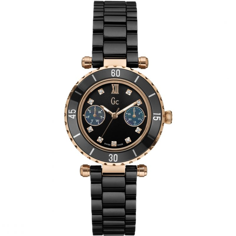 Ladies Gc Diver Chic Diamond Watch