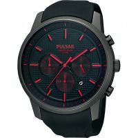 Herren Pulsar Chronograph Watch PT3195X1