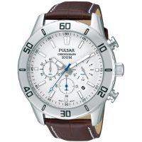 homme Pulsar Chronograph Watch PT3433X1