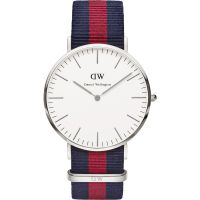 Mens Daniel Wellington Oxford Silver 40mm Watch