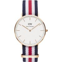 Zegarek damski Daniel Wellington Canterbury Rose 36mm DW00100030