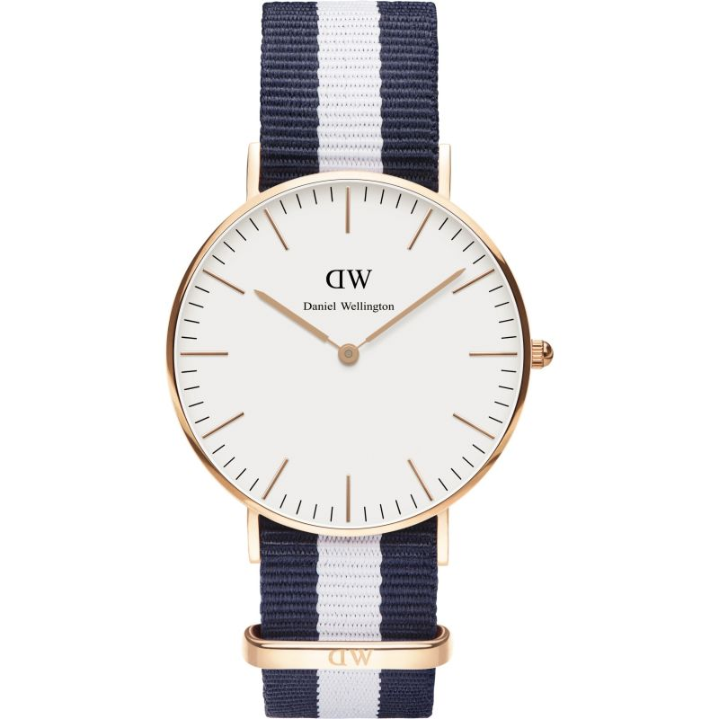 Ladies Daniel Wellington Glasgow Rose 36mm Watch