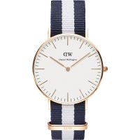 Damen Daniel Wellington Glasgow Rose 36mm Uhr