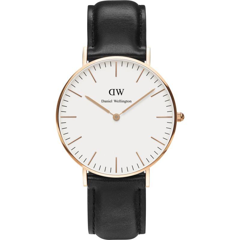 Ladies Daniel Wellington Sheffield Rose 36mm Watch