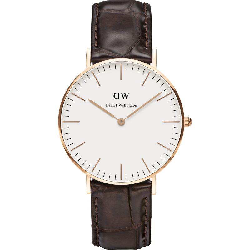 Ladies Daniel Wellington York Rose 36mm Watch
