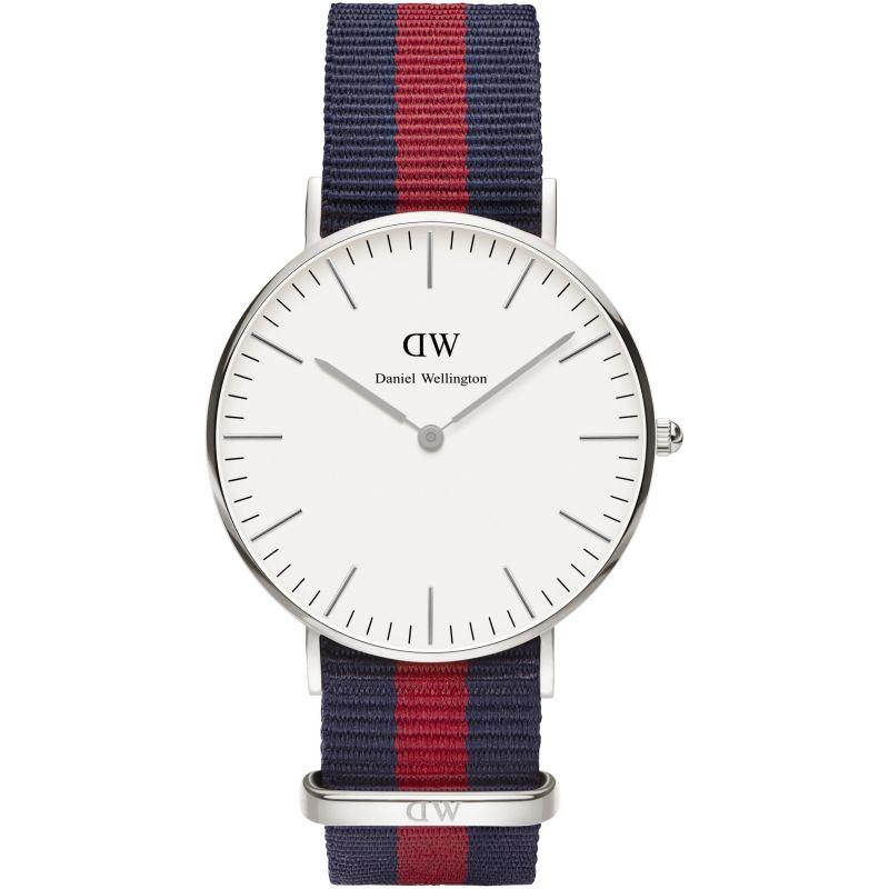 Ladies Daniel Wellington Oxford Silver 36mm Watch