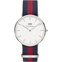 Ladies Daniel Wellington Oxford Silver 36mm Watch