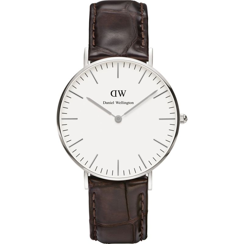 Ladies Daniel Wellington York Silver 36mm Watch