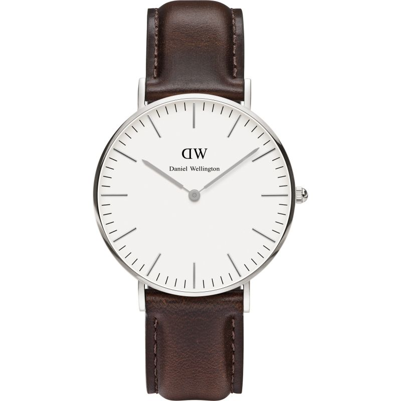 Ladies Daniel Wellington Bristol Silver 36mm Watch