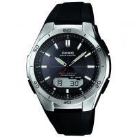 Mens Casio Waveceptor Alarm Chronograph Watch