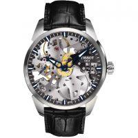 homme Tissot Chemin Des Tourelles Squelette Watch T0704051641100