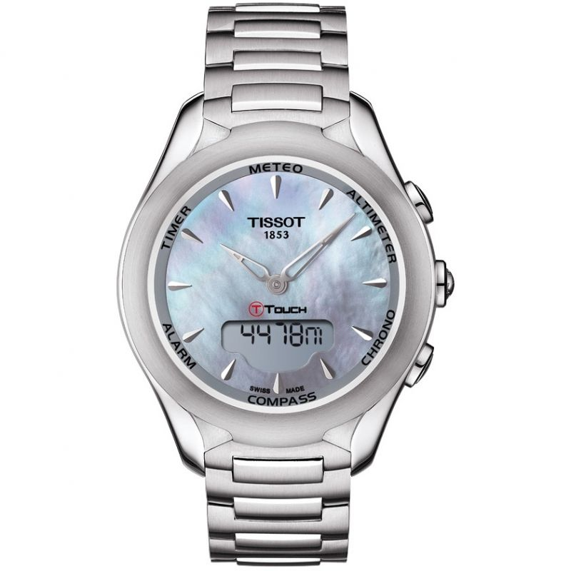Ladies Tissot T-Touch Solar Alarm Chronograph Solar Powered Watch