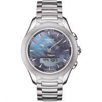 femme Tissot T-Touch Solar Alarm Chronograph Watch T0752201110101