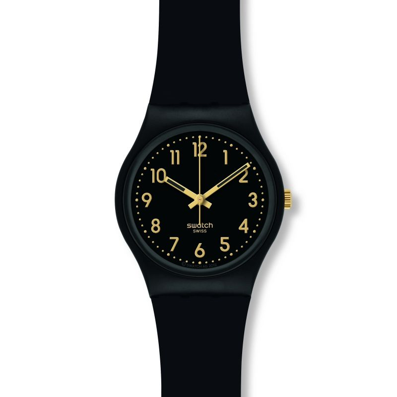 femme Swatch Golden Tac Watch GB274