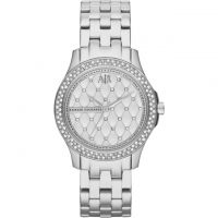 Armani Exchange Dameshorloge Zilver AX5215