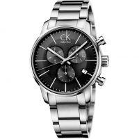homme Calvin Klein City Chronograph Watch K2G27143