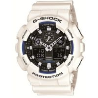 homme Casio G-Shock Alarm Chronograph Watch GA-100B-7AER