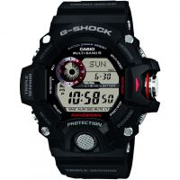 homme Casio G-Shock Rangeman Alarm Chronograph Radio Controlled Tough Solar Watch GW-9400-1ER