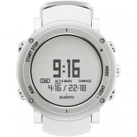 Suunto Core Alu pure white Herenchronograaf Wit SS018735000