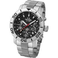 Herren TW Steel Grandeur Diver Chronograph 45mm Watch TW0706