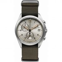 Herren Hamilton Khaki Pilot Pioneer Chronograph Watch H76552955