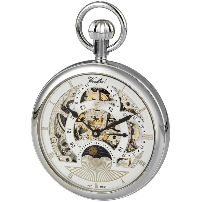 Woodford Skeleton Pocket Mechanical Watch