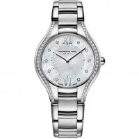Damen Raymond Weil Noemia 32mm Diamond Watch 5132-STS-00985