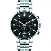Herren Movado SE Pilot Chronograph Watch 0606759