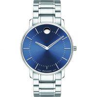 Herren Movado Thin Classic Watch 0606688