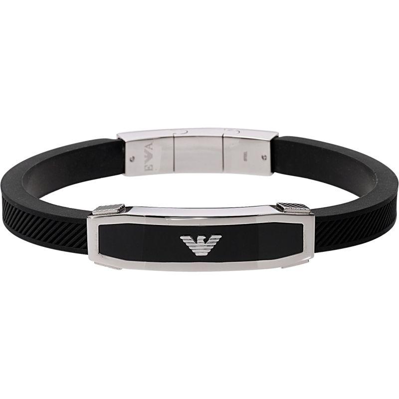 Mens Emporio Armani Stainless Steel Bracelet EGS1543040